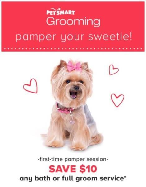 Petsmart coupon codes grooming
