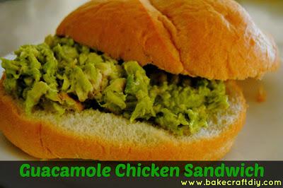 Guacamole Chicken Sandwich