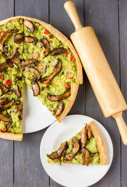 Guacamole Pizza