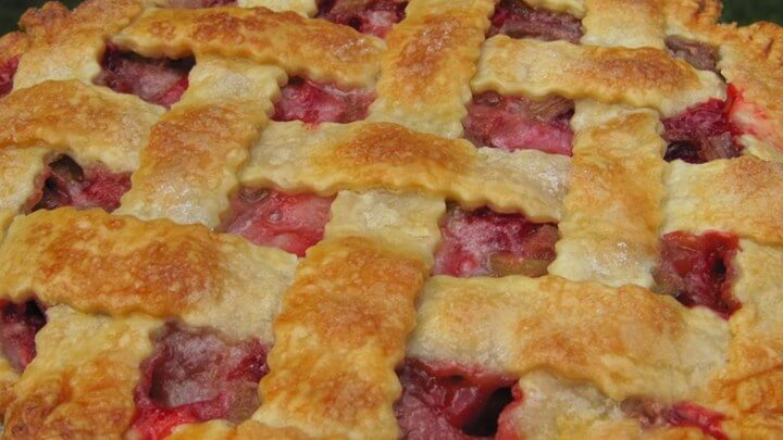 Rhubarb and strawberry pie all recipes