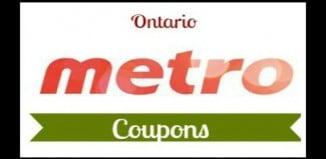 Metro Ontario Printable Coupons expire July 19, 2017
