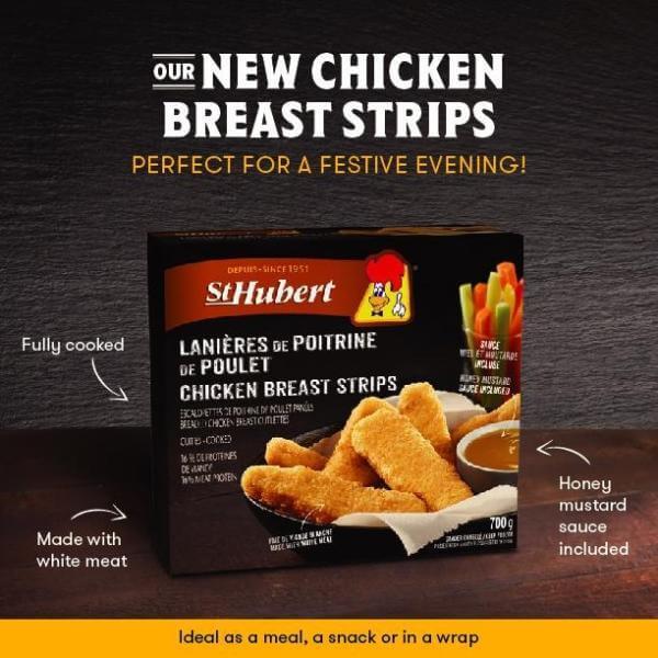 St-Hubert Chicken Breast Strips Coupon $2.00  (Print)