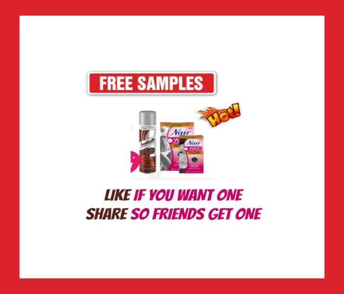 FREE Samples Nair Wax Ready-Strings
