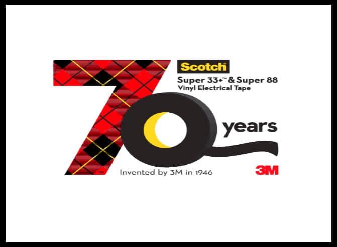 Scotch  – Free Sample Vinyl Electrical Tape