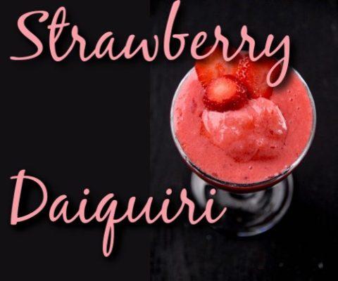 Strawberry Daiquiri Cocktail Recipe
