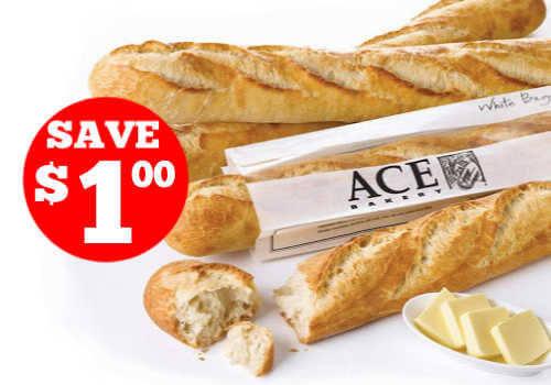 Ace Bakery Coupon – Save $1.00 off Printable Coupon