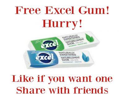 Excel Gum Free Sample (Previous)