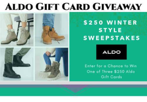Aldo Shoes Contest – Win a $250 Aldo Gift Card (3 winners)