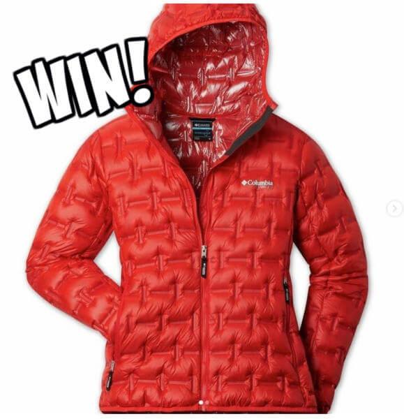 Columbia Contest: Win an Alpine Crux Down Jacket
