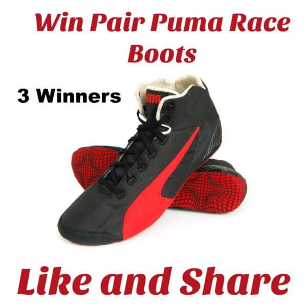 Puma Contest: Win Boots (Previous)