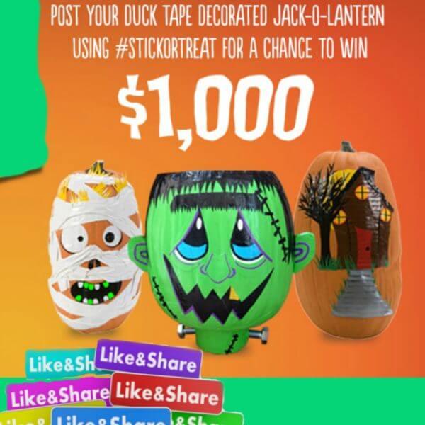 Duck Brand Contest – Win $1000 (Previous)