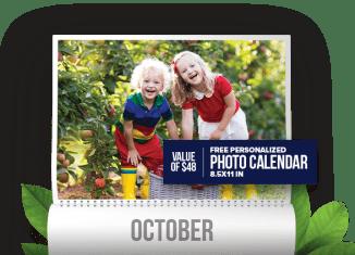 Allens Juice Canada Free Personalized Calendar 2018