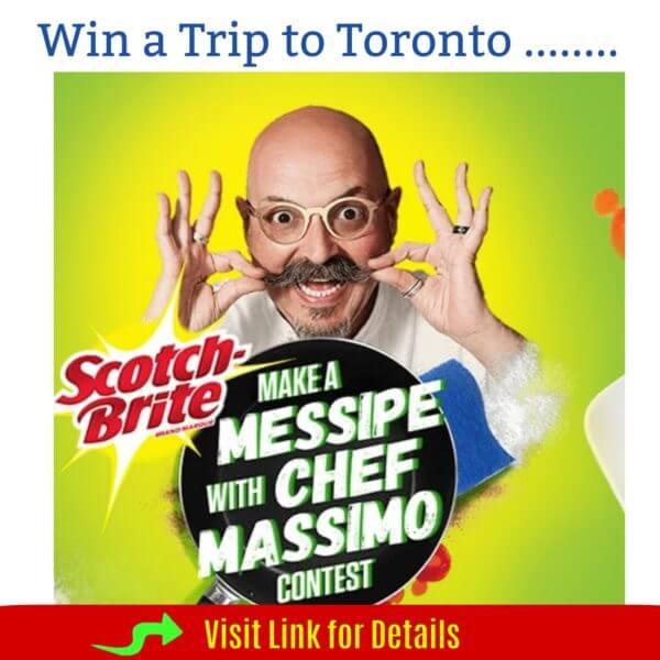 Scotch Brite Contest : Win Trip to Toronto (Previous)