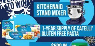 Gluten Free Contest: Win a KitchenAid Stand Mixer,
