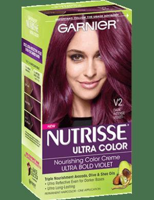Garnier Nutrisse Ultra Color Box of hair dye