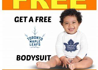 Carters Osh Kosh: Get your FREE Toronto Maple Leafs Bodysuit