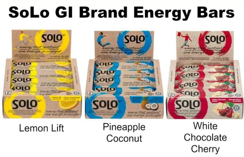 RECALL ~ SoLo GI Brand Energy Bars