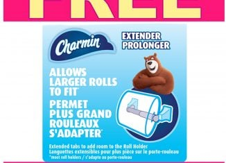Charmin Canada Free Sample: Get your FREE Charmin Roll Extender Now- Go!