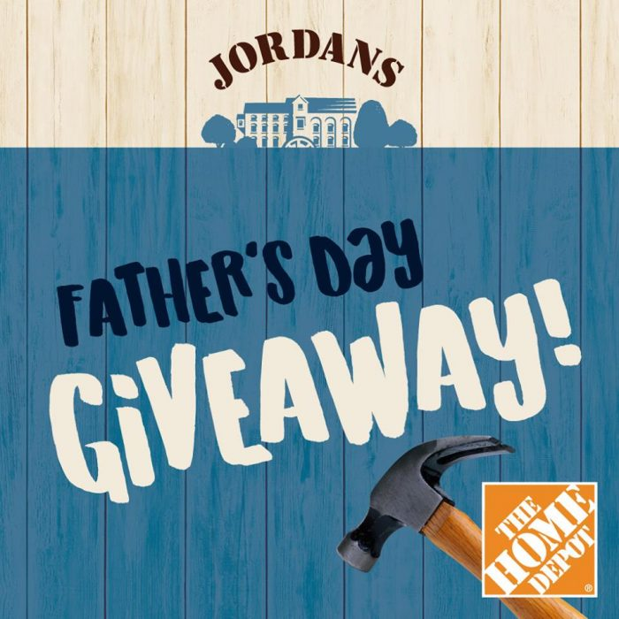 Jordans Cereal Father 39 S Day Contest Win Home Depot Gift Card
