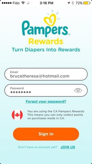 Turn Pamper Diapers into Rewards