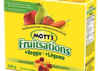 Mott's Fruitsations Snacks ~  Mailed Coupon