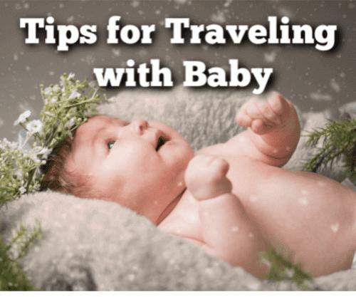 Baby Traveling Tips at Christmas