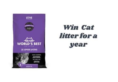 Win a Worlds Best Cat Litter