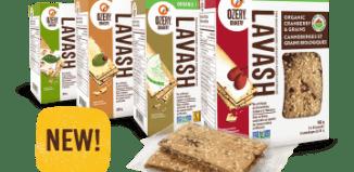 Ozery Bakery Canada Coupons – New Save $1.00 off Lavish Crackers