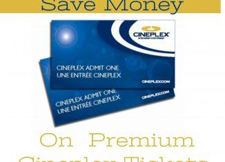 Save Money on Cineplex Movie Tickets