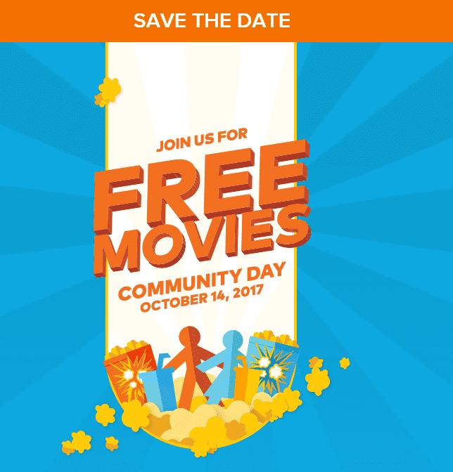 Cineplex Canada Free Movie Date (Previous)