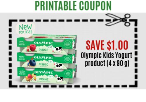 Olympic Dairy Coupon – Save on Kids Yogurt Product