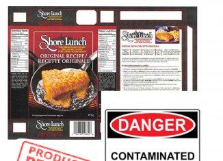 Shore Lunch Canada Recall – Salmonella Contamination.