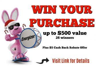 Energizer Contest – WIN $500 (Previous)