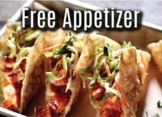 Applebees Canada Free Appetizer on Birthday