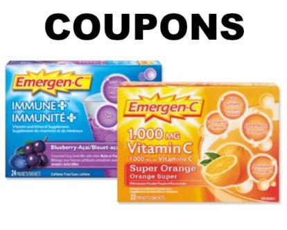 emergen c coupon