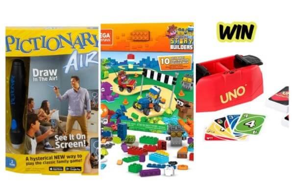 Mattel Contest  -WIN a Mattel games bundle