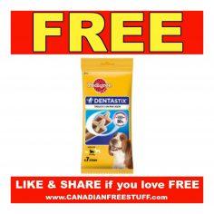 Pedigree  Free Sample of Denta Stix (Previous)