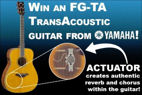 Yamaha Contest ~ Win a Yamaha Guitar valued $749