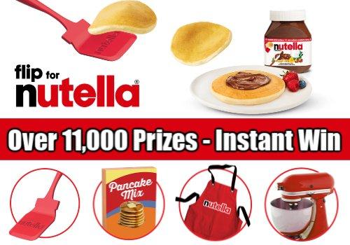 Nutella's Contest Canada:  11,110 Prizes (Previous)