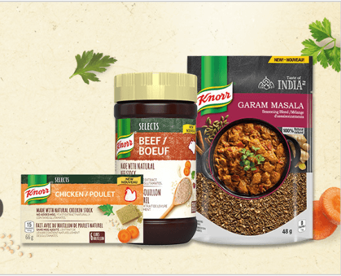 FREE Knorr Products for Canadians -Apply now!!