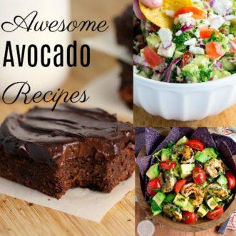 , Fresh Avocado Recipes Roundup