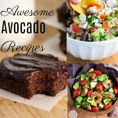 Fresh Avocado Recipes Roundup