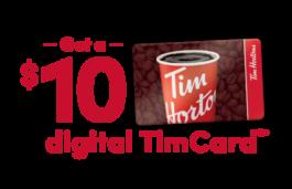 Tim Hortons Digital Card