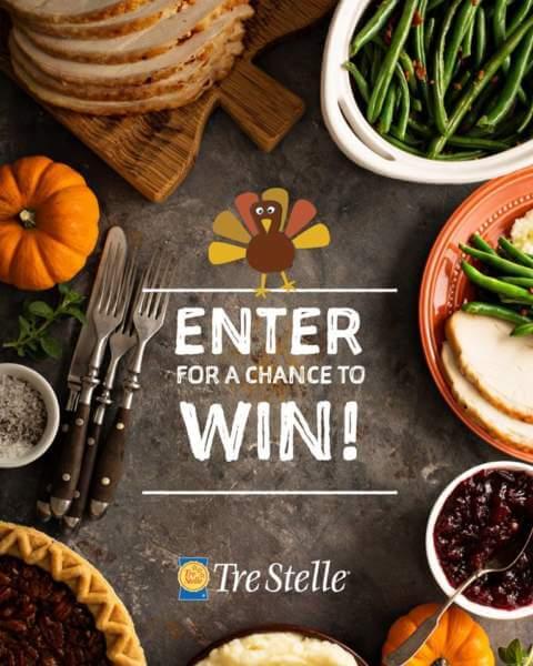 Tre Stelle Contest – WINVouchers, Gift card & Cookware Set