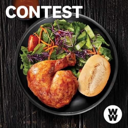 Weight Watchers Contest – WIN1 of 100 Chicken Dinner at Swiss Chalet