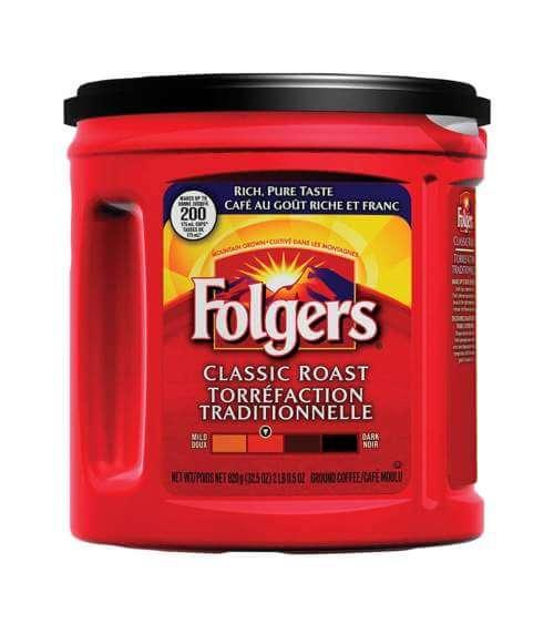 Folgers Coffee Sale: $6.88