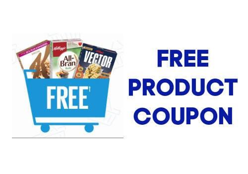 Kelloggs free product coupon