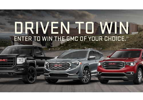 General Motors Contest ~ WIN the Vehicle of Your Choice valued $45,200