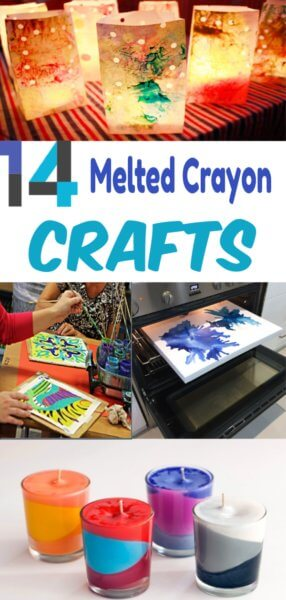 Crayola Crafts: Melted: 14 Do it Yourself Projects