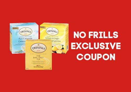 Twinning Tea Coupon Exclusive to No Frills